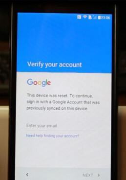 dekodiranje brisanje google nalog blokada FRP